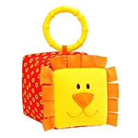 Myakish Soft Hanging Toy (Cube) for Toddlers Baby Girls Baby Boys from 12 months Rattle Toy Stroller Crib