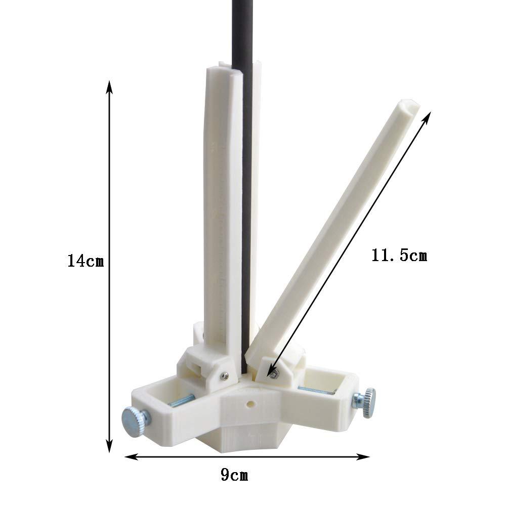 Nirox Juego de alicates circlip para anillos de retenci/ón punta de 1,8 mm niquelada mango antideslizante con bolsa de almacenamiento 4x 175 mm