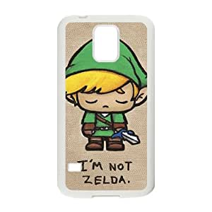 Legend of Zelda Samsung Galaxy S5 Cell Phone Case White xlb-147345