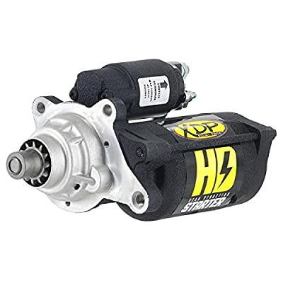 XDP Wrinkle Black Gear Reduction Starter: Automotive