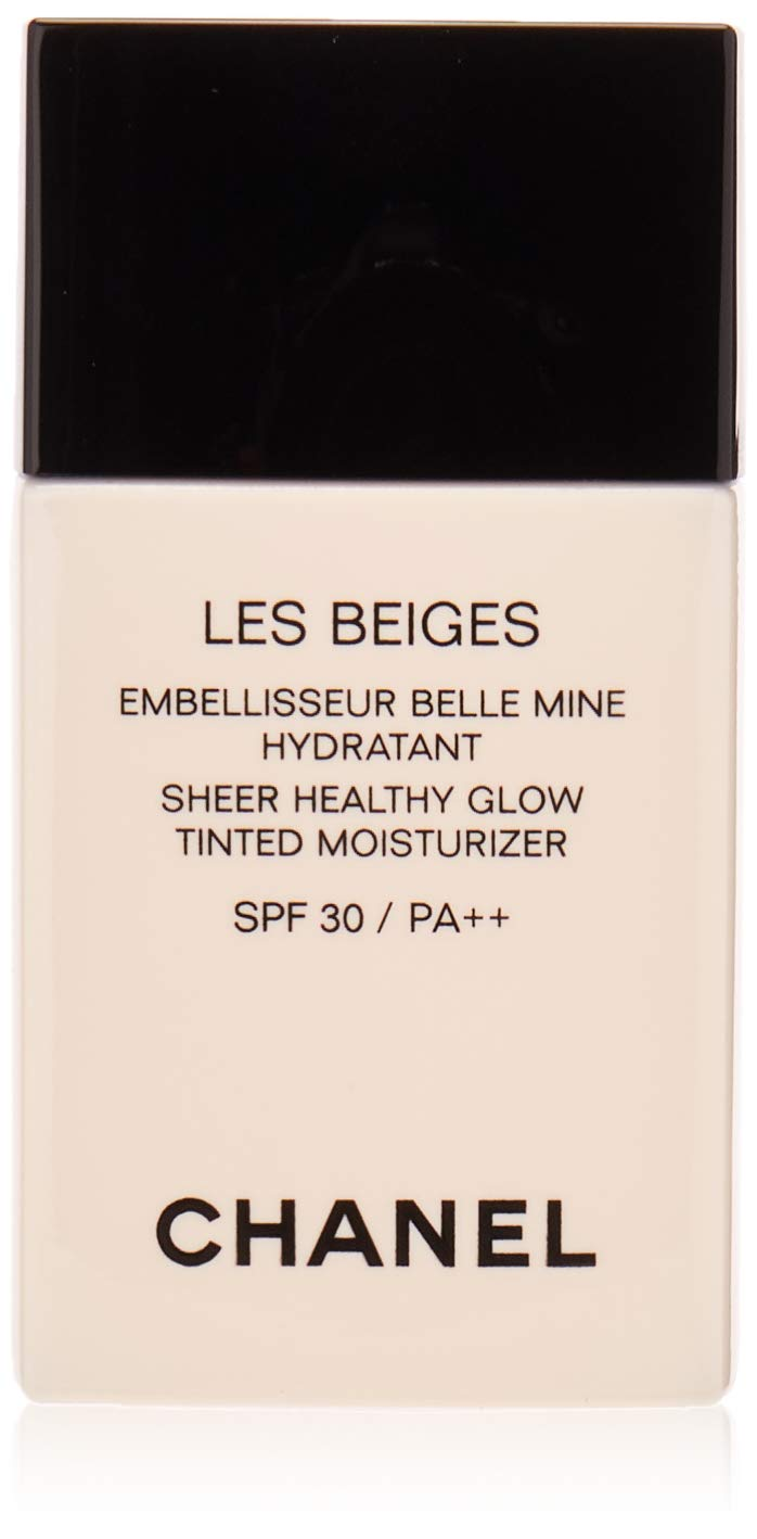 Chanel Les Beiges Sheer Healthy Glow Tinted Moisturizing SPF 30 Medium Plus for Women, 1 Ounce