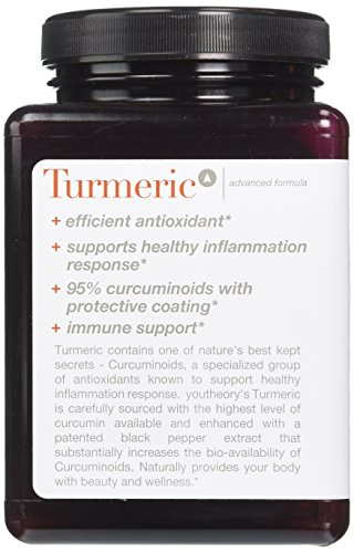 5124dDd46xL - Youtheory Turmeric Advanced Formula Tablets - 180 ct