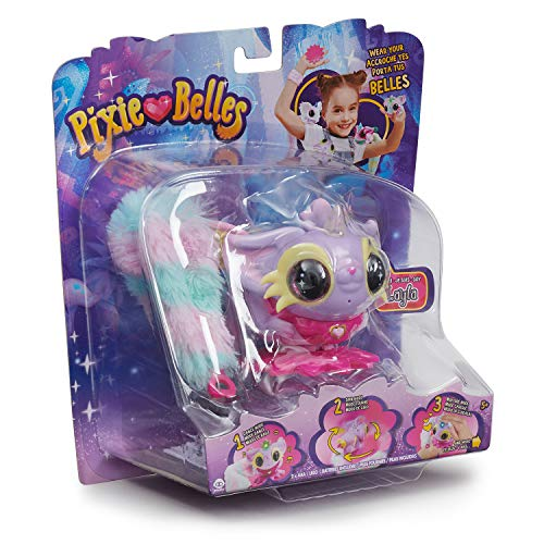 Pixie Belles - Interactive Enchanted Animal Toy, Layla (Purple)