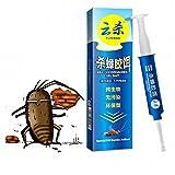 easyshop 10g Powerful Anti Cockroach Pesticide Control Gel Bait Drug Poison Nest Environmental Friendly Genuine Syring