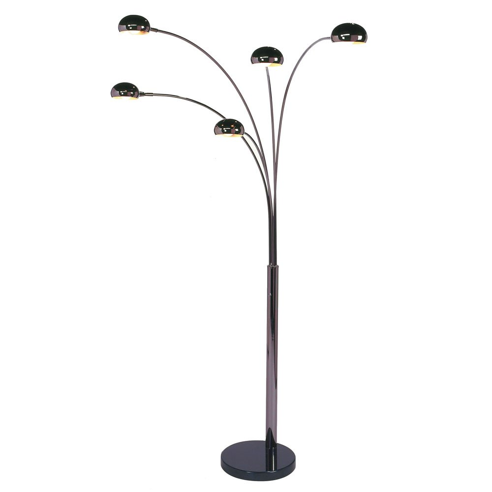 Nova lighting 4035 mushroom 5 light arc 480 x 600 x 870 nova lighting 4035 mushroom 5 light arc 480 x 600 x 870 black nickel floor lamps amazon mozeypictures Image collections