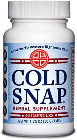 OHCO Cold Snap 60 Capsules - Ease Cold and Flu Symptons - Herbal Medicine - High-Quality Chinese Medicine Remedies
