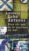 Bien sûr que tu te souviens de moi : Chroniques par Lobo Antunes