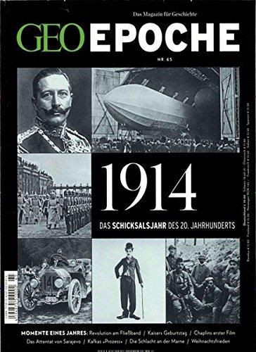 GEO Epoche / GEO Epoche 65/2014 - 1914