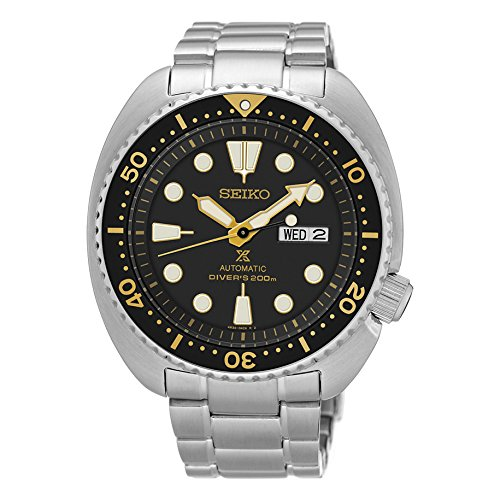 Seiko Men's Silvertone Automatic Diver Watch Seiko Automatic 200m Diving Watch