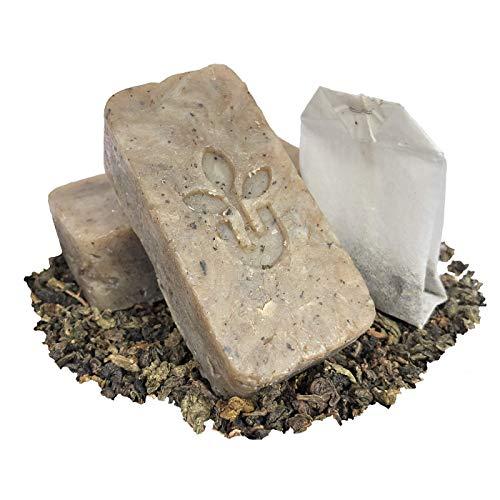 Urbanized – Handmade Natural Green Tea Soap Skin Care Gift Set Clearing Toner – Face Hand Body Bath Accessories Eco…
