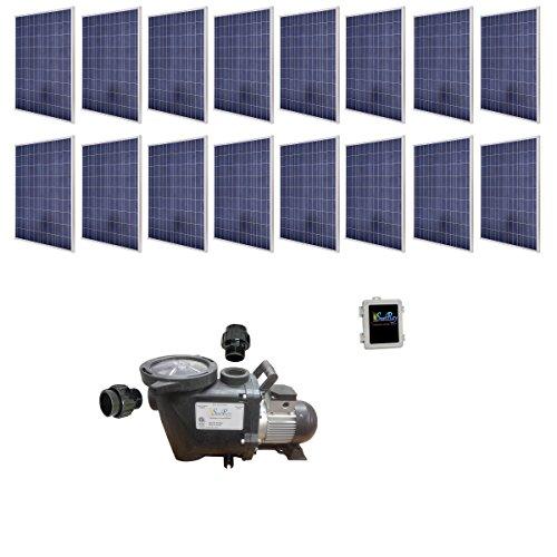 SAVIOR Sunray SOLFLO-4-S4KW-PM-115-60-240 Solar Pool Pump...