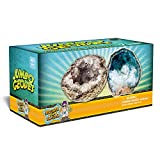 Discover with Dr. Cool Break Open 2 Jumbo Geodes - These Large Rocks Have Crystals Inside!