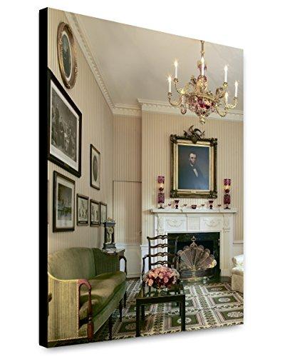 Amazon com: ClassicPix Canvas Print 20x24: Lincoln Room, Blair House