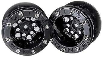 G-made MBL-02BK 2.2 Mudrock Challenger Beadlock Wheels, Black