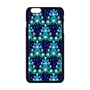 Artistic Christmas Tree Black Phone Case for Iphone6 plus wangjiang maoyi