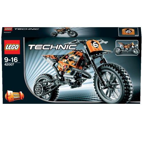 lego technic 42007 moto cross bike new 5702014975354 ebay. Black Bedroom Furniture Sets. Home Design Ideas