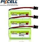 3 Pack BT-1008 BT-1021 BT-1025 BT-1016 Dect 6 WITH43-269 Cordless Phone batteries