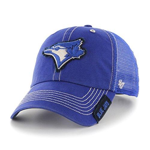 (MLB Toronto Blue Jays Turner Clean Up Adjustable Hat, One Size, Royal)