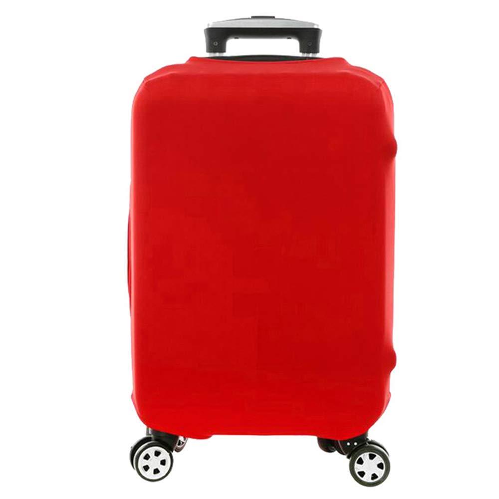 Coffre Valise -Valise Coque Housse de Valise Luggage Bagages Couverture Protection Valise Housse de Bagage Luggage Cover L,M,S Bleu, S Elastique Housse de Valise