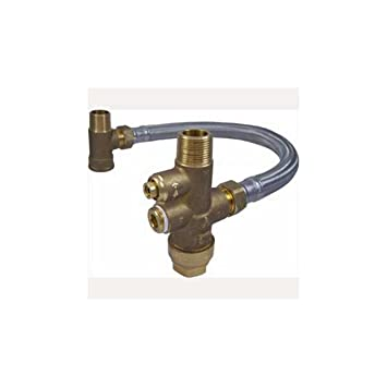 Cash Acme MIX02020LF Lead Free Heat Guard Tank Booster Pro Water ...