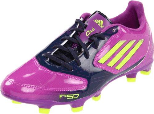 adidas Women's F10 TRX FG Soccer Cleat,Ultra Purple/Electricity/New Navy,5.5 M (Navy Adidas 2012 Football)