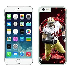 NFL Iphone 5/5S an Francisco 49ers Joe Staley White Case Cover For SamSung Galaxy S4 Mini Cell Phone Case ONXTWKHC3876