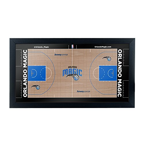 Trademark Gameroom Orlando Magic Official NBA Court Framed Plaque (Cheap Furniture Outdoor Orlando)