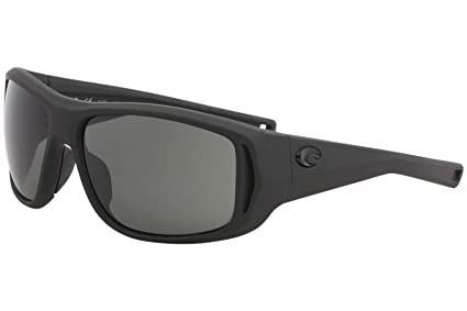 10ba5cf9524 Image Unavailable. Image not available for. Color  Costa Del Mar Costa Del  Mar MTK187OGGLP Montauk Gray 580G Matte Black Ultra Frame ...