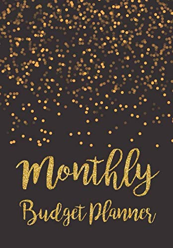 Monthly Budget Planner: Expense Finance Budget By A Year Monthly Weekly & Daily Bill Budgeting Planner And Organizer Tracker Workbook Journal | Black … Business Money Notebook Planning Worksheets)