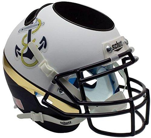 Riddell Navy Midshipmen NCAA Schutt Mini Football Helmet Office Desk Caddy