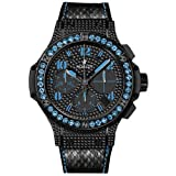 Hublot Big Bang Black Fluo Blue Sapphires Limited Edition Automatic Chronograph - 341.SV.9090.PR.0901