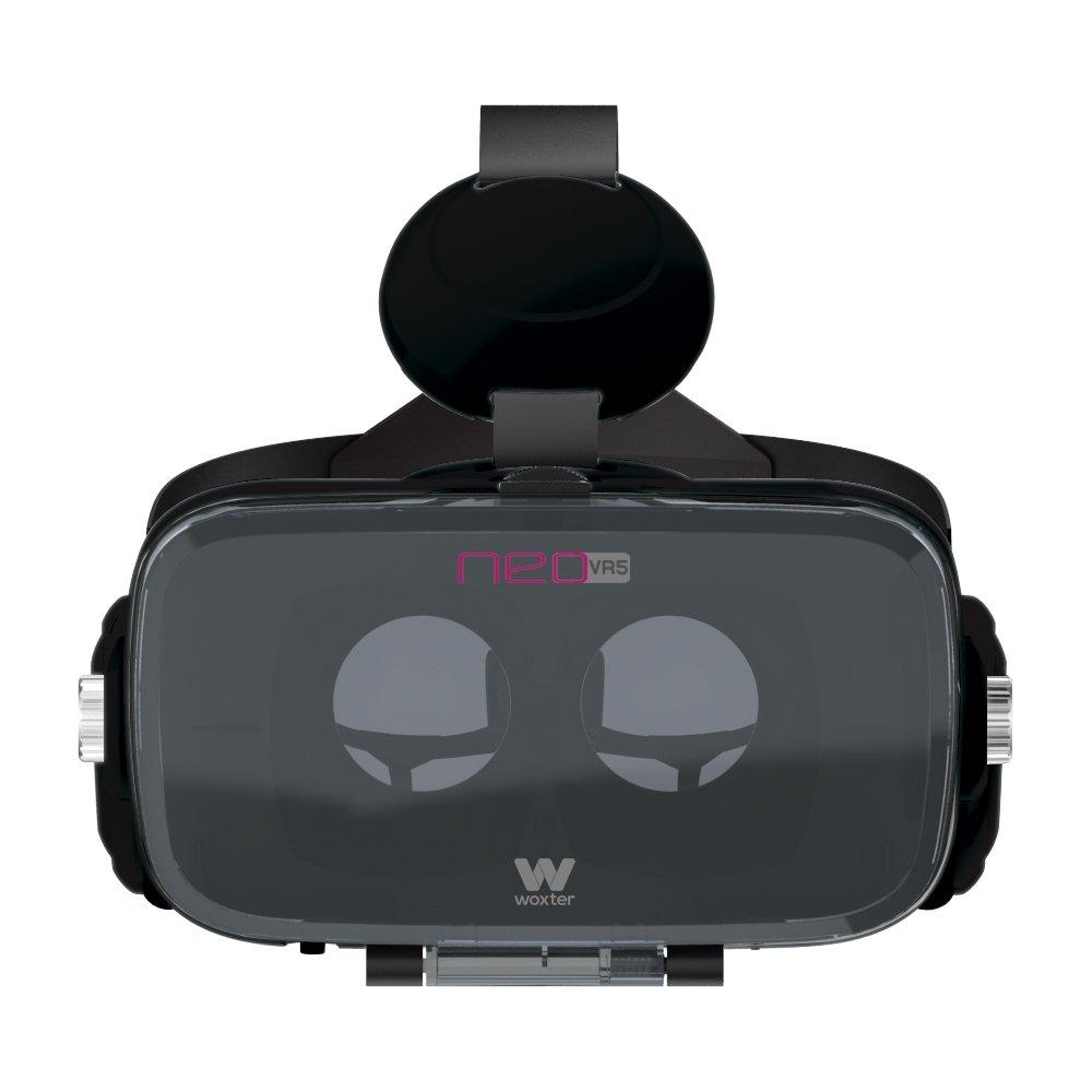 Woxter Neo VR5 - Gafas de Realidad Virtual 3D para Smartphone con Auriculares incorporados, Color Negro: Amazon.es: Electrónica