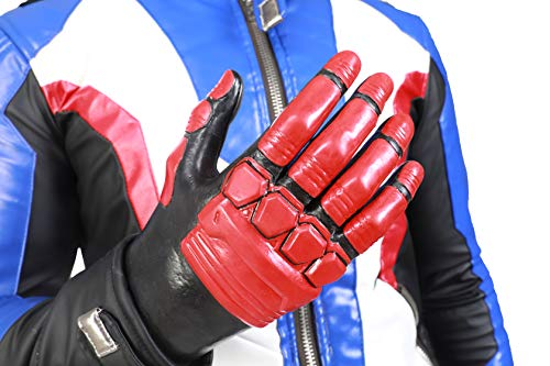 OW Soldier 76 Deluxe Cosplay Gloves Hot Game Hero Props Accessories