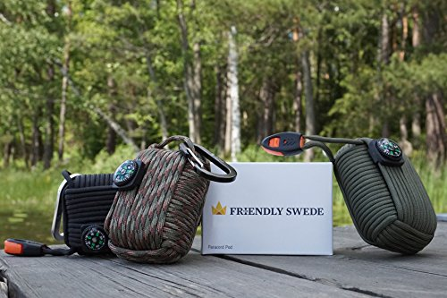 The-Friendly-Swede-Survival-Pod-20-Accessories-Emergency-Paracord-Black
