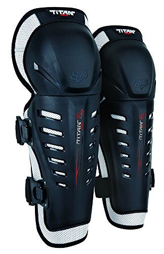 Titan Racing Fox Race (Fox Racing 2019 Titan Race Knee/Shin Guards (BLACK))