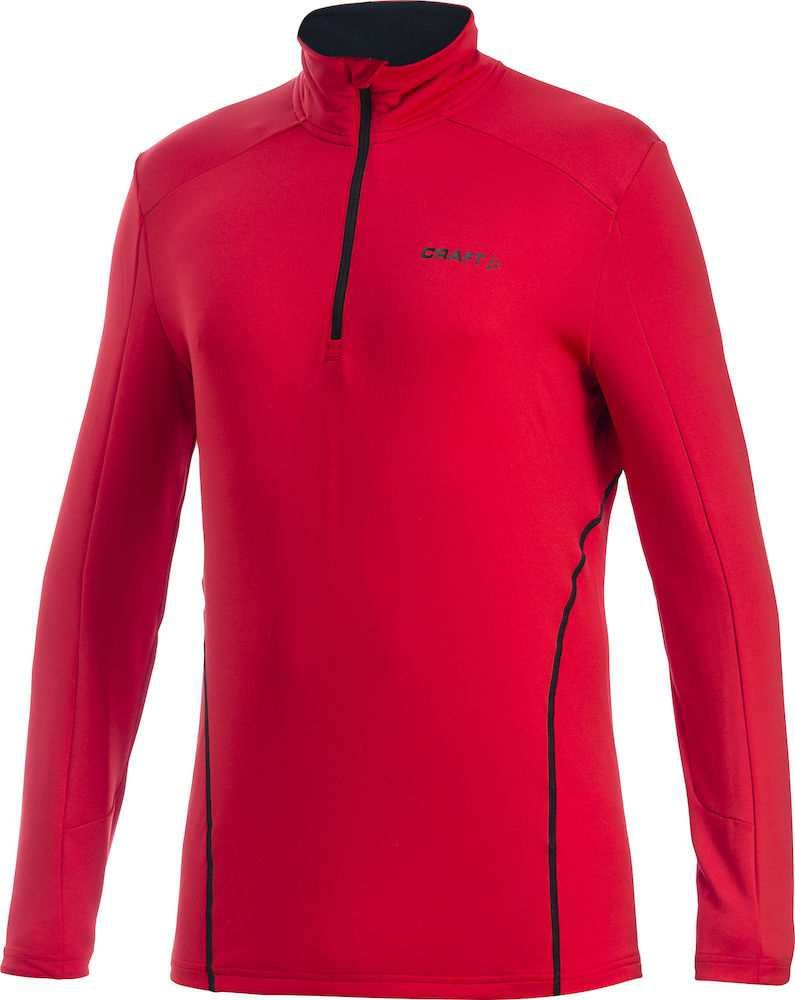 Craft Herren Stretch Pullover in rot Lightweight Stretch Pullover