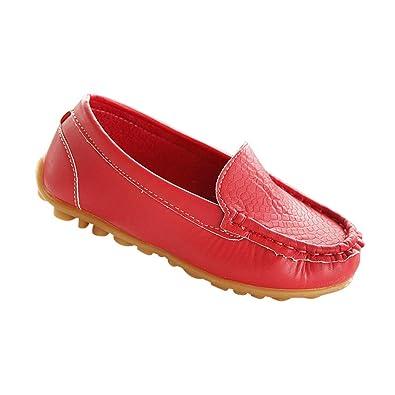 a927fb5dcd Yudesun Unisex Kids Loafer Non Slip - Boys Girls Flats Moccasins ...