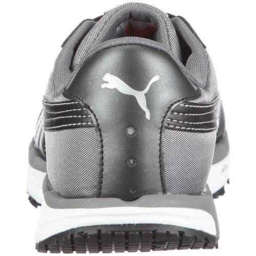 Puma cuerpo del tren ls brillo 185.558 calzado deportivo de wn FITNESS para mujer Negro (Schwarz/Black-White-Steel Grey)