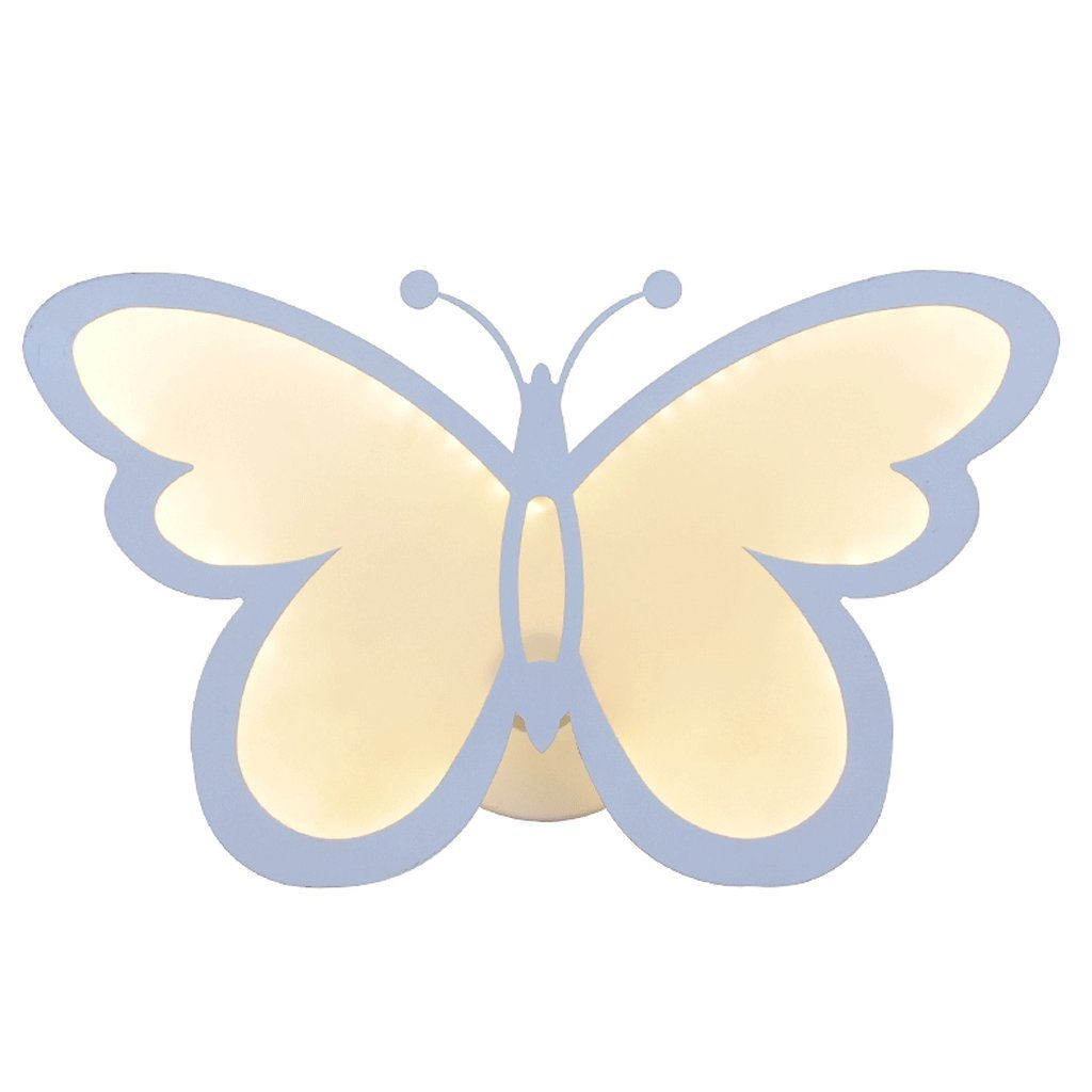 Bedside Bedroom Wall Lamp Creative Living Room Background Wall Aisle Corridor Stairs Butterfly Men and women Children's Room Ceiling Lights by LYJ