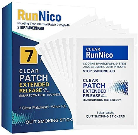 RunNico Nicotine Transdermal Cessation Products product image