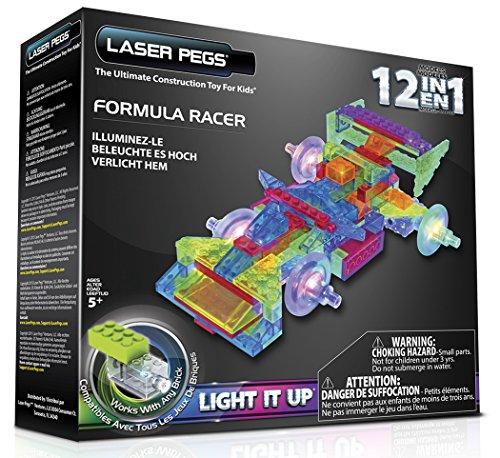 Laser Pegs 12-in-1 Formula Racer - Racer 1 Formula