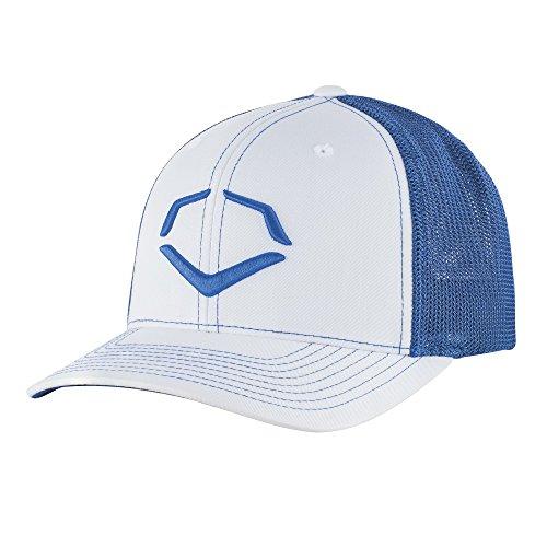 Wilson Sporting Goods Unisex EvoShield Royal Steed Stripe Mesh Flexfit Hat
