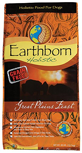 Earthborn Holistic Great Plains Feast Grain Free Dry Dog Food, 28 - Holistic Food Puppy Earthborn