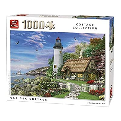 King 5717 Old Sea Cottage Puzzle Da Pezzi 68 X 49 Cm