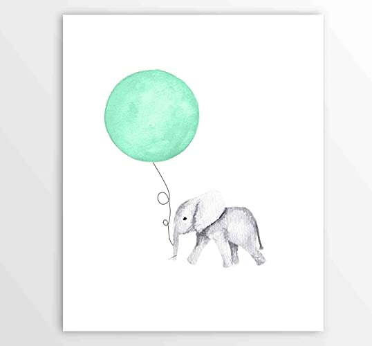 Amazon Com Kids Wall Art Nursery Art Nursery Ideas Elephant