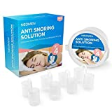 Neomen® Snore Stopper Nose Vents - Set of 4 Premium Anti Snoring Sleep Aid Devices - Best Anti Snore Solution for Stop Snoring.