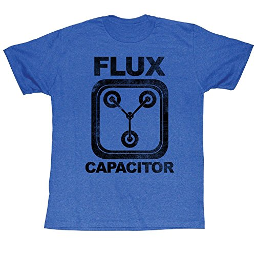 Back to The Future Mens Flux Capacitor T-Shirt