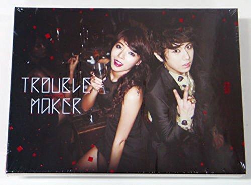 TROUBLE MAKER (BEAST Hyunseung & 4MINITE Hyuna) - Trouble Maker (1st Mini Album) CD+Extra Gift Photocard