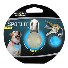 Nite Ize SLG-03-03 SpotLit Clip-on LED Go Anywhere Light, Blue