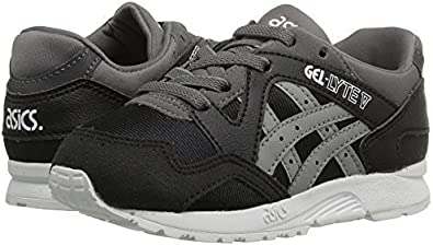 querido cable Descortés  Amazon.com   Onitsuka Tiger Kids by Asics Baby Boy's Gel-Lyte V TS  (Toddler) Black/Medium Grey 4 Toddler M   Running